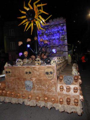 De mitos y leyendas fueron los temas del Desfile de Calaveras 2017