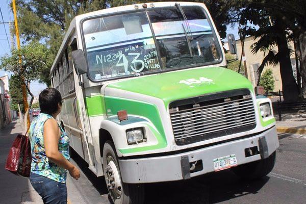 Camiones urbanos de mal en peor