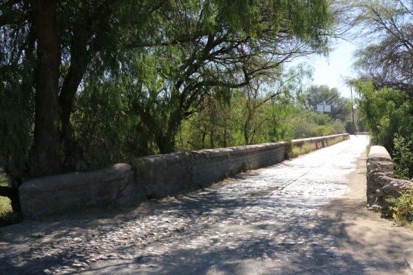 Puente a San Ignacio soporta la modernidad