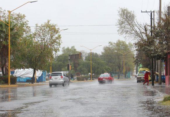 Lluvia persistente pero sin problemas
