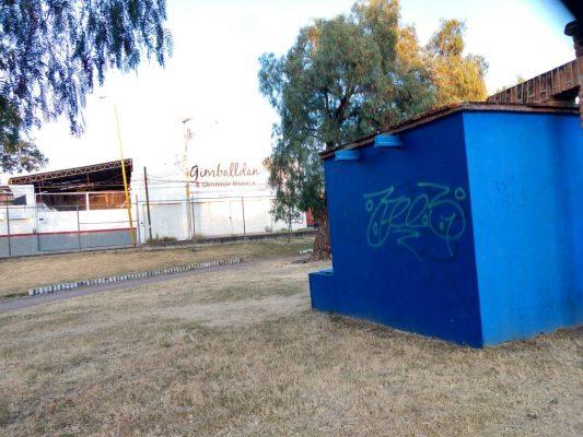 Vandalismo en  parques no cesa