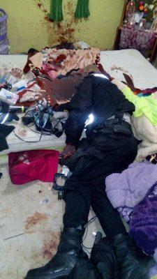 Asesinan a machetazos a guardia de seguridad