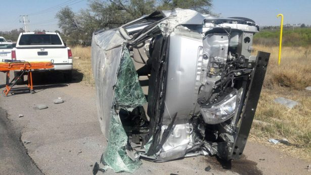 Arroja 16 lesionados accidente carretero
