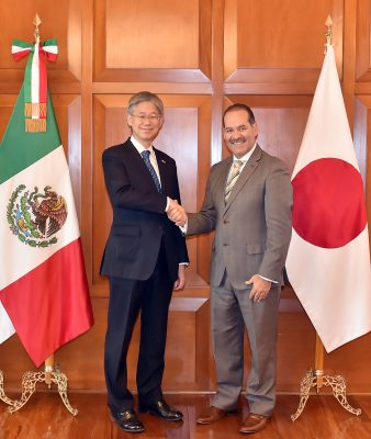 Embajador nipón reconoce nuestro clima de seguridad
