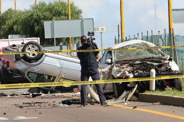 Murieron 37 personas por  accidentes viales en 2017