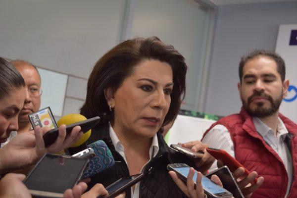 Lorena Martínez sí busca ser senadora