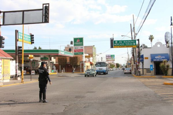 30% de los semáforos no están centralizados