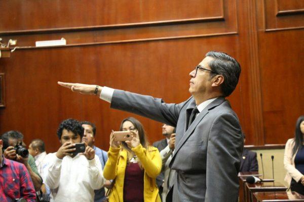 Jesús Figueroa será nuevo fiscal