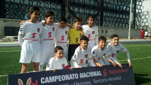 Selección de Aguascalientes a cuartos de final, en Nacional Sub-10 de fútbol