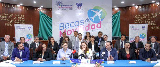 400 estudiantes locales podrán viajar al exterior