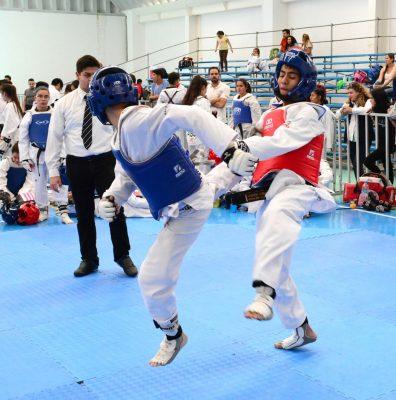 Realizan cuadrangular  de fogueo en taekwondo