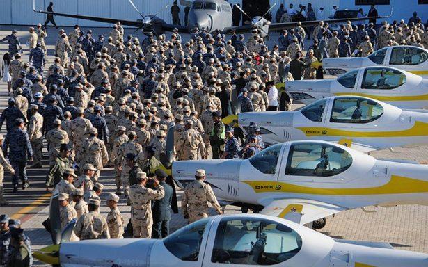 Fuerza aérea mexicana, tercera más grande en América Latina