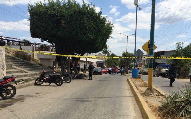 Un muerto y dos heridos, tras ataque armado en Pinotepa