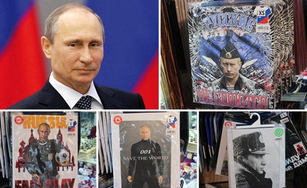 La imagen de Putin: de presidente a ícono comercial
