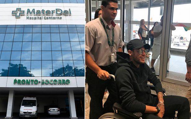 Este es el hospital donde Neymar será operado: cerrarán todo un piso