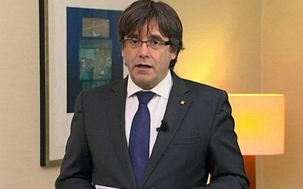 Puigdemont renuncia a su candidatura para reelegirse presidente de Cataluña