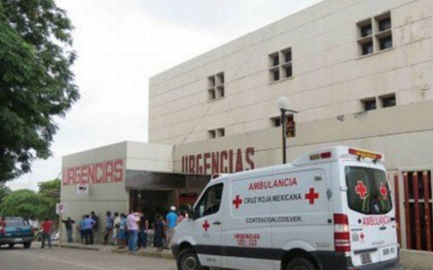 Secuestran a mujer a las puertas del Hospital Comunitario en Coatzacoalcos