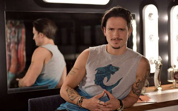 El colombiano David Palacio participa en su séptimo proyecto en la televisión mexicana