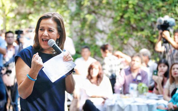 Candidatos sí se unen para defender la dignidad de México, celebra Zavala