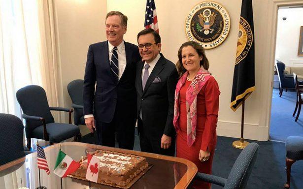 TLCAN, tema principal en encuentros de secretarios con altos funcionarios de la Casa Blanca