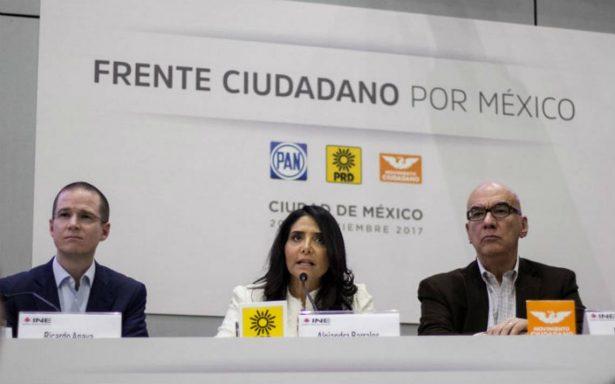 Frente podría alcanzar hasta 187 distritos electorales en 2018: PRD