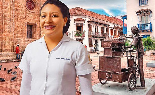 Capacita guanajuatense a practicantes colombianos