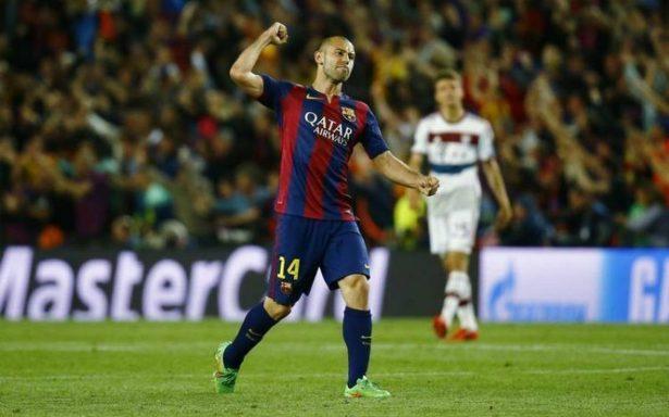 Oficial: Mascherano se despide mañana del Barcelona