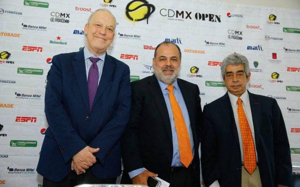 Confirman a los tenistas para la primera edición del CDMX Open
