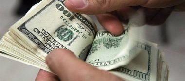 Dólar promedia en 18.85 pesos a la venta en aeropuerto capitalino