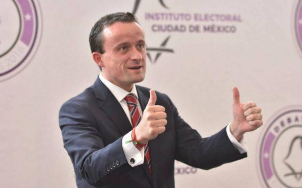 Mikel Arriola rechaza apostar su candidatura con Barrales