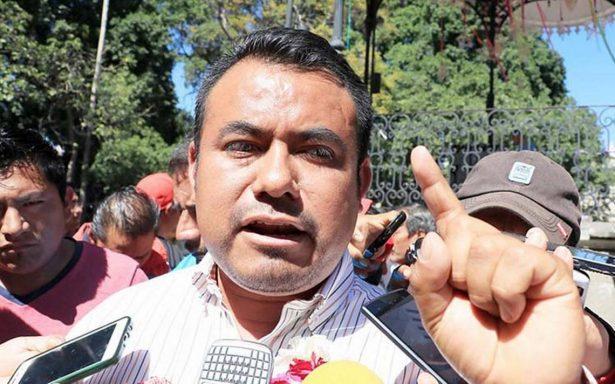 Dirigente de la CNTE rechaza afiliación para López Obrador