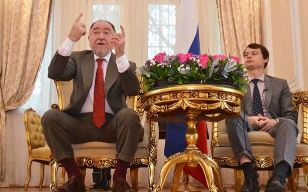Embajador de Rusia en México aclara que no hay evidencias de interferencia en elecciones