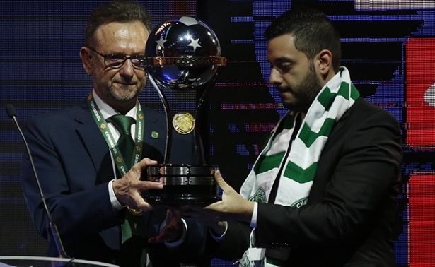 [Video] Chapecoense recibe la Copa Sudamericana