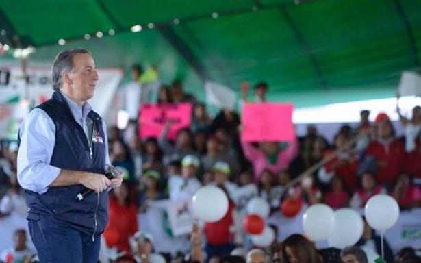 Meade promete dos trenes suburbanos en el Estado de México