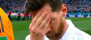 Argentina se enfrenta a Croacia y Messi no oculta su preocupación