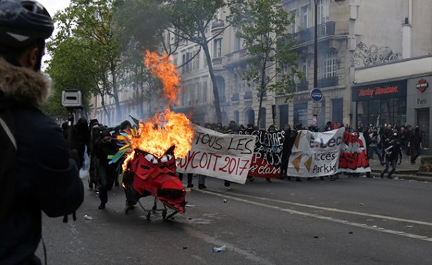 Así se llevan a cabo marchas por el Día del Trabajo en el mundo