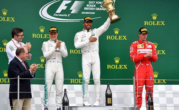 Hamilton gana por cuarta vez consecutiva el GP de Gran Bretaña