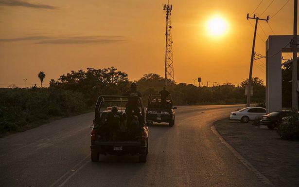 Un grupo armado agredió a balazos la base de la Policía Estatal en Sinaloa