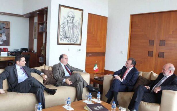 Videgaray recibe a representantes de la oposición venezolana
