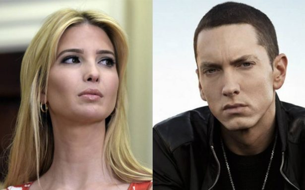 ¿Eminem quiere secuestrar a Ivanka Trump?