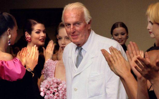 Muere a los 91 años el legendario modisto francés, Hubert de Givenchy