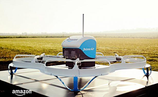 Comienza la era del envío a domicilio por drones