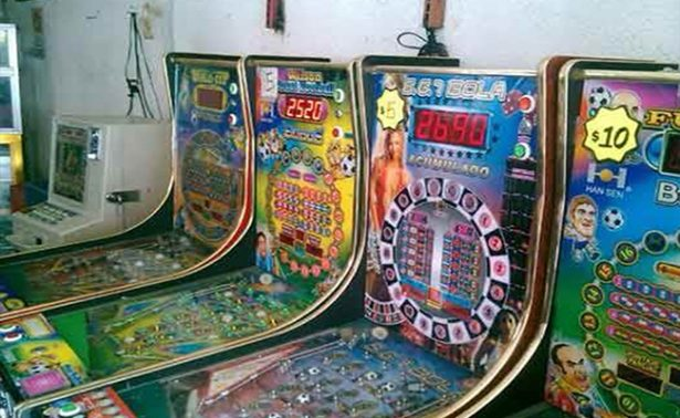 Decomisan  máquinas tragamonedas en Tabasco