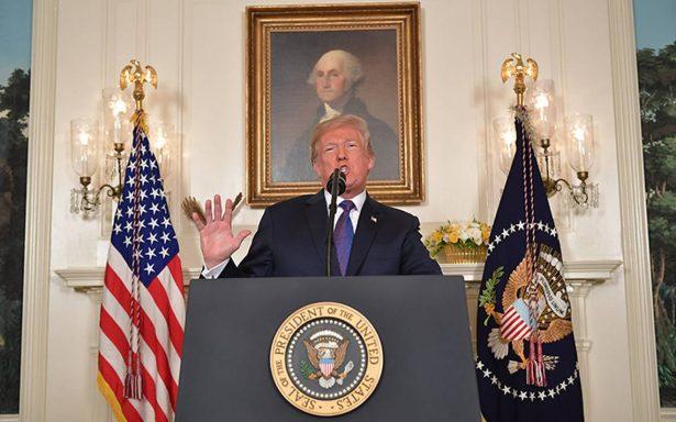 Trump ordena ataque militar en Siria con apoyo de Francia y Reino Unido