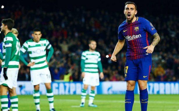 Barça vence al Sporting de Lisboa y pasa primero de grupo en Champions