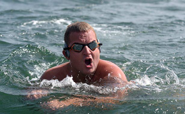 Nadador se quedó con ganas de cruzar el Atlántico