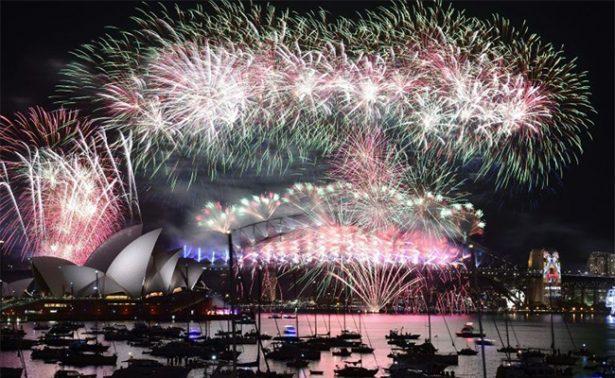 Fuegos artificiales de Año Nuevo de Sídney, en directo por Facebook