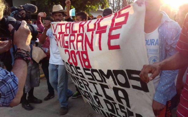 Secretaría de Gobernación informó que la Caravana Viacrucis del Migrante comenzó su dispersión