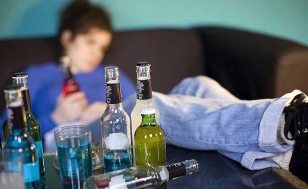 Aumentan casos de alcoholismo en menores
