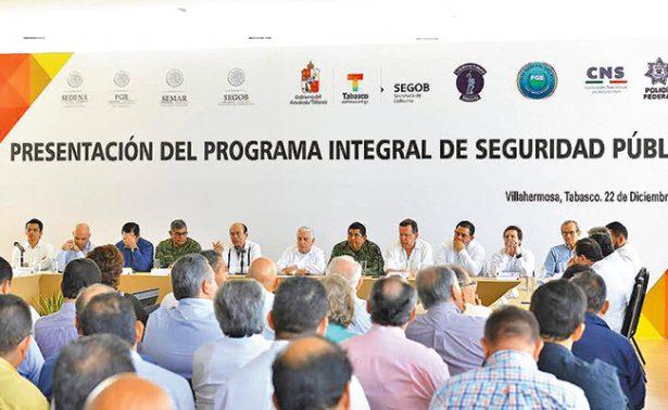 Presenta Núñez programa integral de seguridad pública